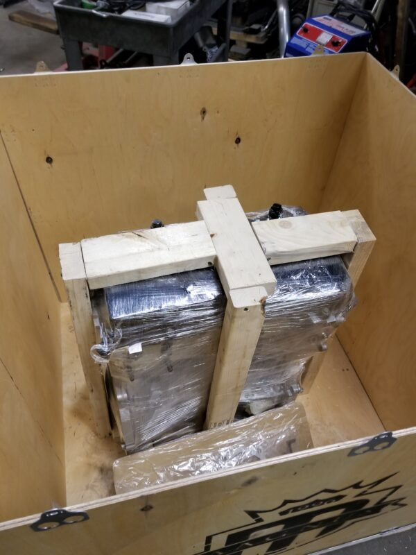 Magnus Motorsports Crate Engine Shipment Packed