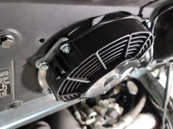 Magnus Motorsports Slim fan with adaptor for porsche 996 911 twin turbo