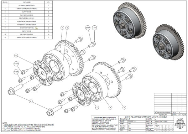 MMCENG1080_EVO_X_ADJUSTABLE_CAM_GEAR_MOUNT_ASSEMBLY_DRAWING