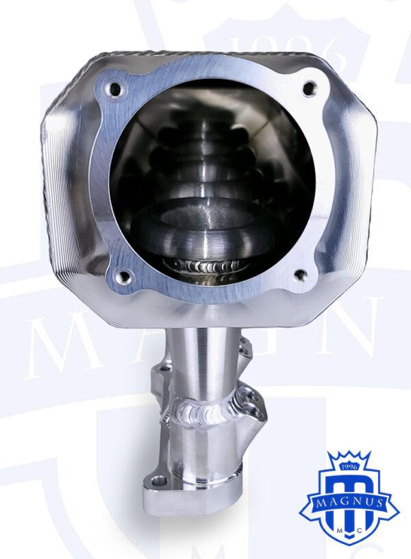 MMCINT1070-008 MAGNUS EVO X 8 INJECTOR SHEET METAL INTAKE MANIFOLD INSIDE