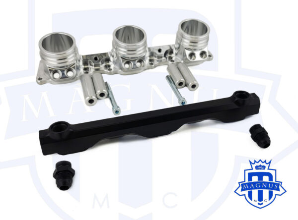 MMCINT5000_MAGNUS_PORSCHE_996_997_DUAL_INJECTOR_LOWER_INTAKE_MANIFOLD_WITH_FUEL_RAIL_SPACER_OPTION_TALL_SHORT