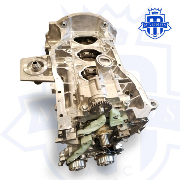 Magnus Motorsports EVO X 10 Crate Engine Wet or Dry Sump Bottom View