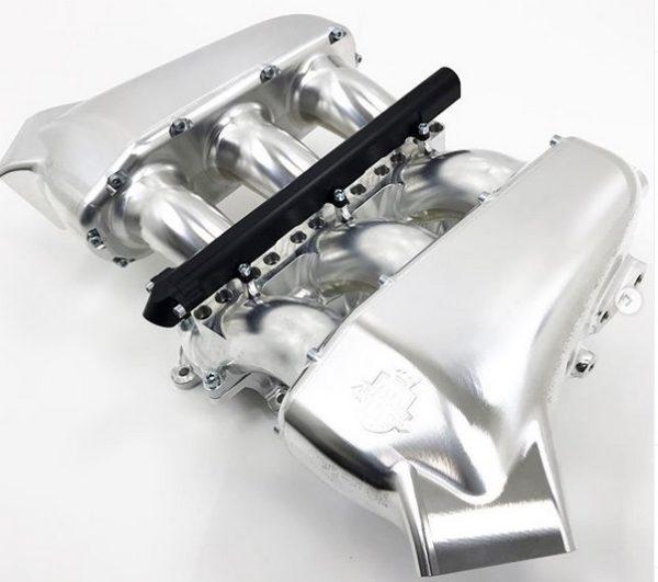 Magnus VR38 Billet GTR 18 injector manifold