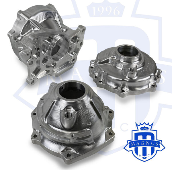 ACD and NON ACD Billet Transfer Case Housing Assembly group