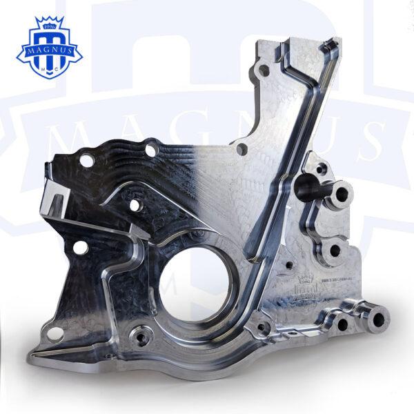 MMCENG7000-01_Magnus Motorsports 2JZ billet dry sump front cover