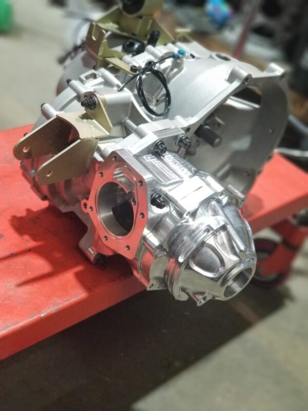 NON-ACD Evo 7-9 Transfer Case Assembly installed