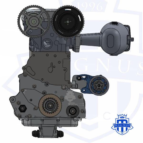 MMCFUL1054_Magnus_Mechanical_Fuel_Pump_1G_2G_Colt_Backside_Engine_Mount_Cam_Belt_Drive_With_PumpMMCFUL1054_Magnus_Mechanical_Fuel_Pump_1G_2G_Colt_Backside_Engine_Mount_Cam_Belt_Drive_With_Pump