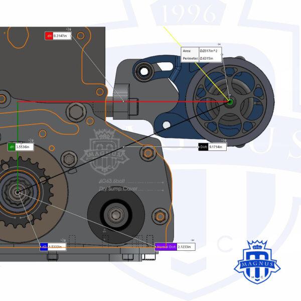 MMCFUL1054_Magnus_Mechanical_Fuel_Pump_1G_2G_Colt_Center_Length_Engine_Mount_Cam_Belt_Drive_With_Pump