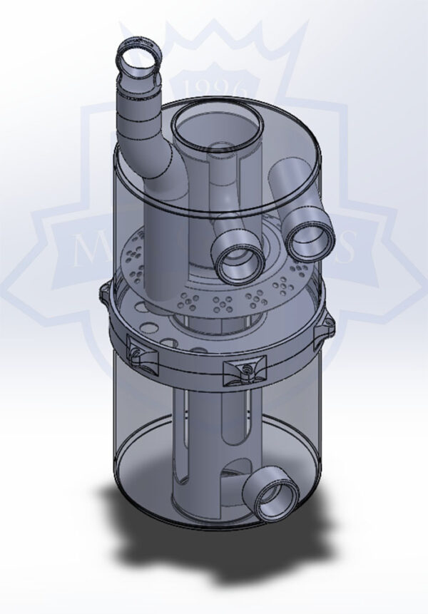 MMCENG5000-201MAGNUS DRY SUMP TANK INNER COMPONENTS CAD DRAWING