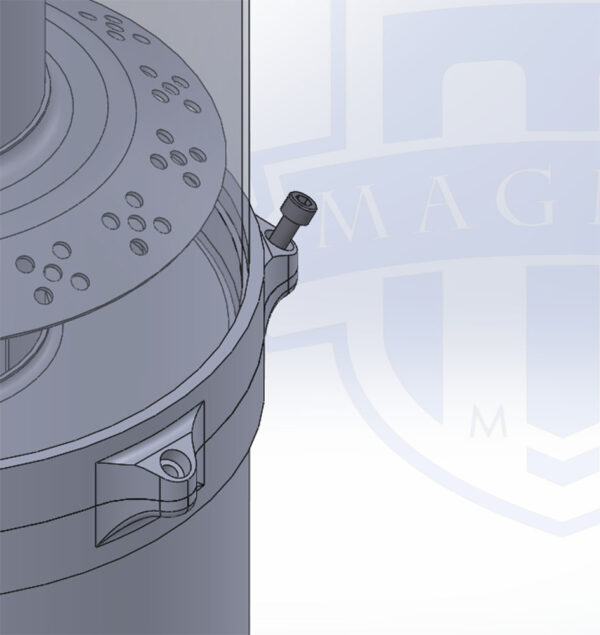 MMCENG2500 MAGNUS DRY SUMP TANK WITH 30 DEGREE FASTENER
