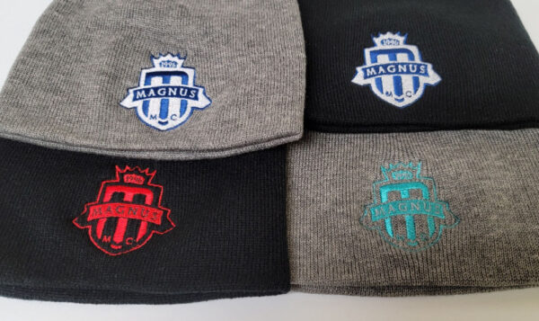 Magnus BEANIES 4 colours og crest red limited and very limited edition