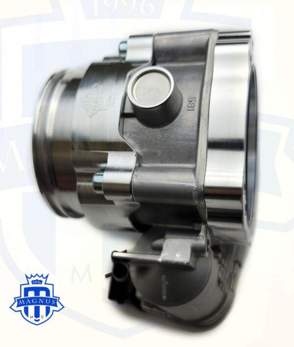 MMCINT2019 Adaptor on Bosch 75mm throttle body and MMCINT2018 installed
