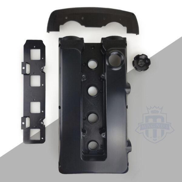 Mitsubishi_EVO_DSM_1G_2G_Ignition_Coil_Plate_4G63_Walker Ignition_all parts