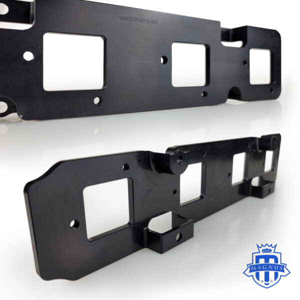 Mitsubishi_EVO_DSM_1G_2G_Ignition_Coil_Plate_4G63_Walker Ignition Coils_Side view